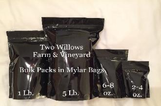 Two Willows Farm and Vineyard Bulk Pack Products