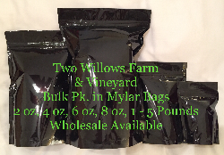 Two Willows Farm and Vineyard Bulk Pack Organic Grape Seed, Skin, and Pine Bark